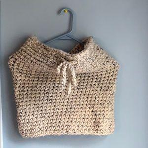 Nantucket Cowl Neckwarmer Handmade Knit by Yokoo